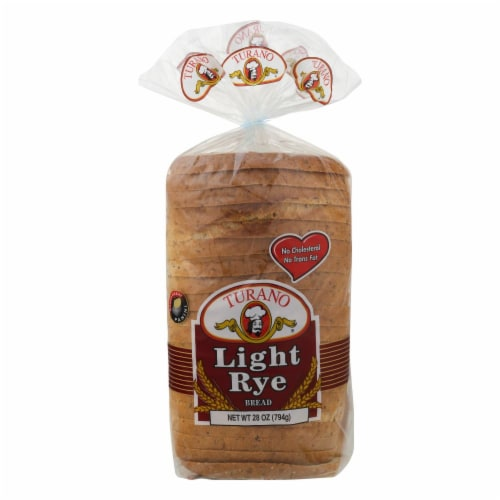 Turano Light Rye Bread Perspective: front