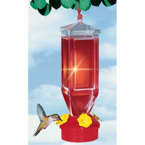 Perky Pet 18oz. Lantern Design Feeder Perspective: front
