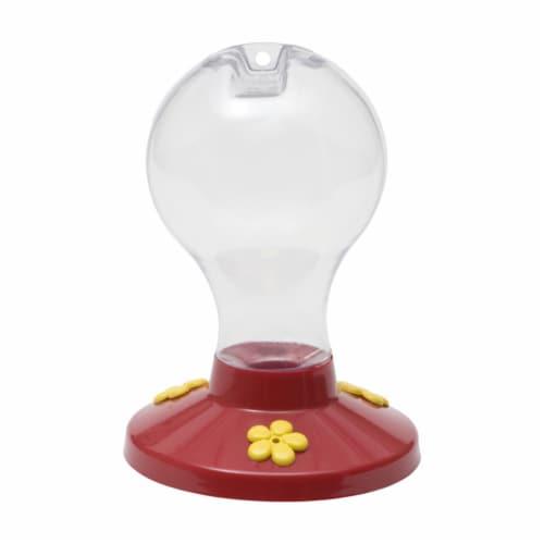 Perky-Pet Garden Song 16 Oz. Plastic Hummingbird Feeder 216-6 Perspective: front
