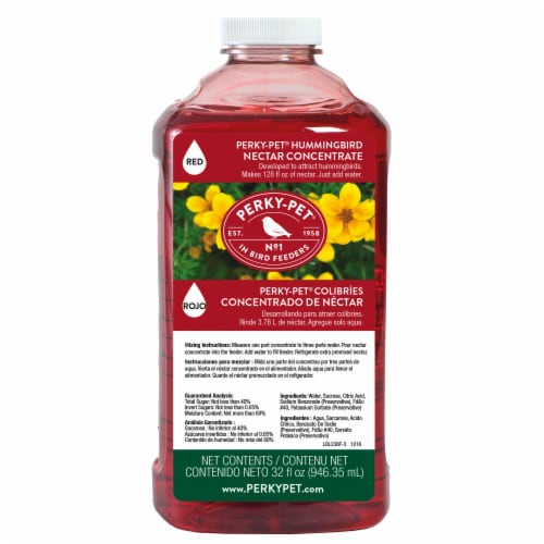 Perky-Pet Hummingbird Nectar Concentrate Perspective: front