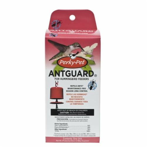 Perky-Pet Hummingbird Feeder Ant Guard Perspective: front