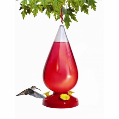 Woodstream-victor 32 Oz Dew Drop Hummingbird Feeder  273 Perspective: front