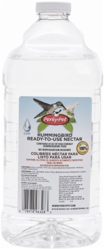 Perky-Pet Ready-To-Use Clear Hummingbird Nectar Perspective: front