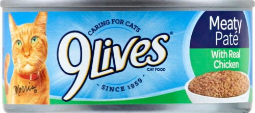 9Lives® Daily Essentials Chicken Dinner Wet Cat Food Perspective: front