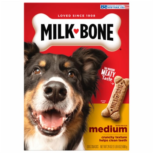 Milk-Bone Medium Dog Biscuits Perspective: front