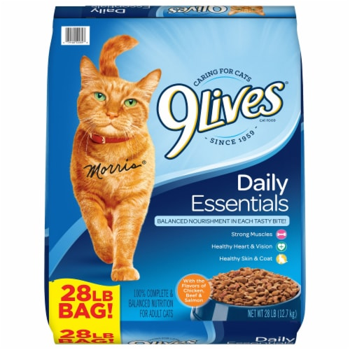 9Lives Daily Essentials Dry Cat Food Perspective: front