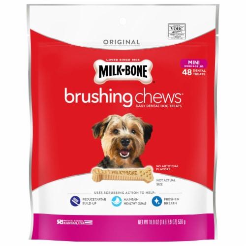 Milk-Bone Brushing Chews Mini Bones Value Pack Perspective: front