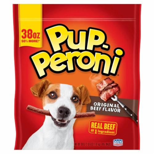 Pup-Peroni Original Beef Flavor Dog Treats Perspective: front