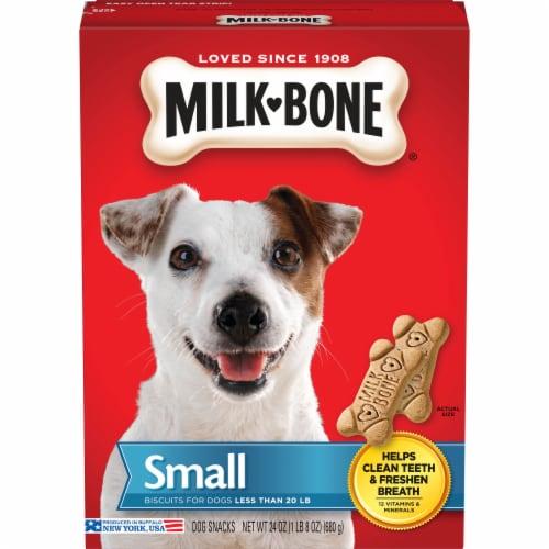 Milk-Bone Small Original Dog Biscuits Perspective: front