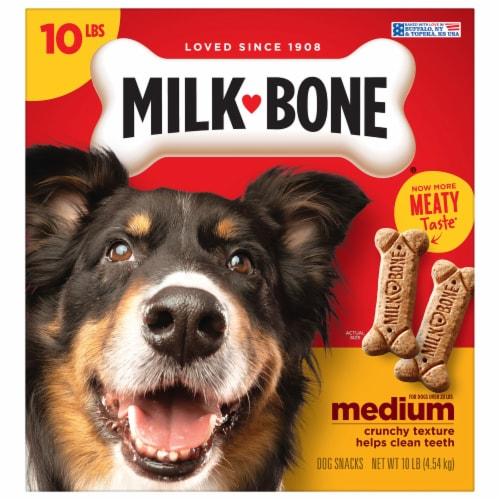 Milk-Bone Original Medium Dog Biscuits Perspective: front