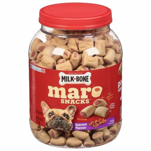 Milk Bone® Maro Snacks Bacon Flavor Dog Treats Perspective: front