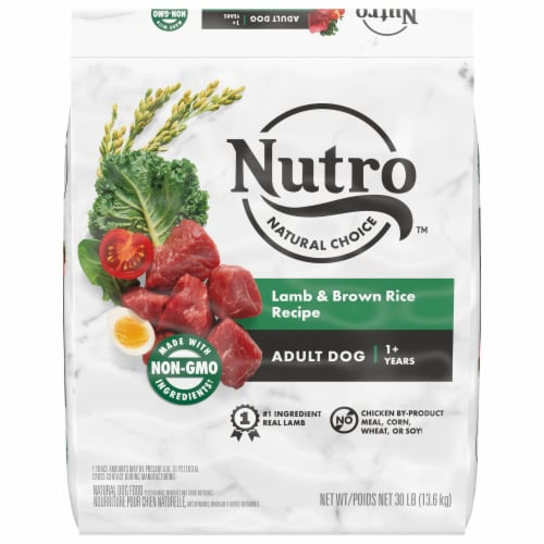 Nutro Wholesome Essentials Lamb & Rice Adult Dog Food Perspective: front