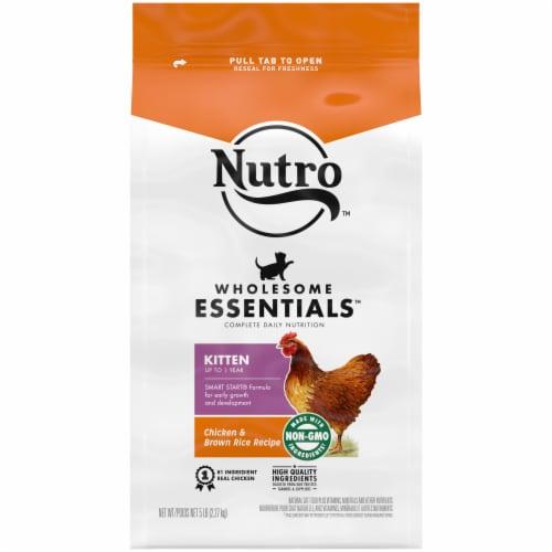Nutro Kitten Chicken Dry Cat Food Perspective: front