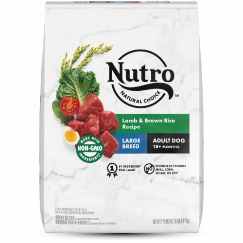 Nutro Wholesome Essentials Lamb & Rice Large Breed Adult Dry Dog Food Perspective: front