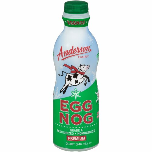 Anderson Dairy Premium Holiday Eggnog Perspective: front