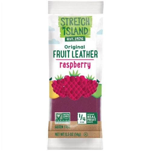 Stretch Island Raspberry Fruit Leather Perspective: front