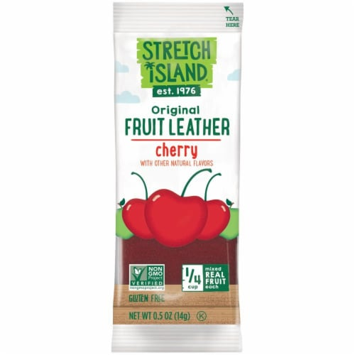 Stretch Island Cherry Fruit Leather Perspective: front
