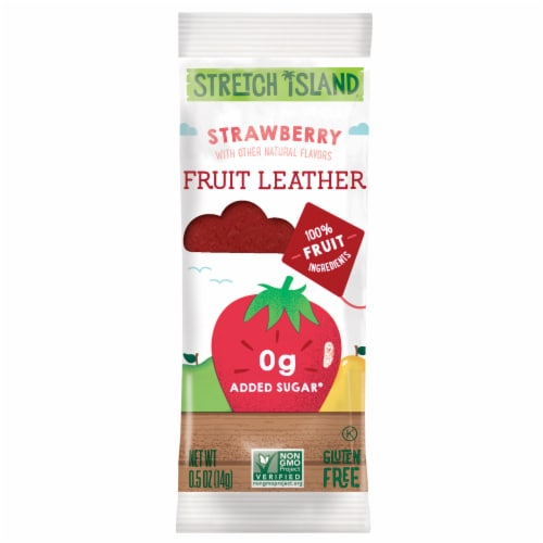 Stretch Island Strawberry Fruit Leather Perspective: front