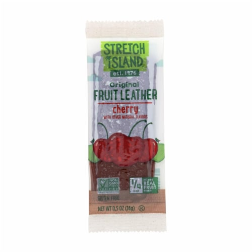 Stretch Island Fruit Leather Strip - Orchard Cherry - .5 oz - Case of 30 Perspective: front
