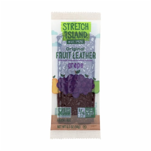Stretch Island Fruit Leather Strip - Harvest Grape - .5 oz - Case of 30 Perspective: front