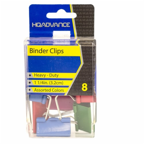 HQ Advance Heavy-Duty Binder Clips Perspective: front
