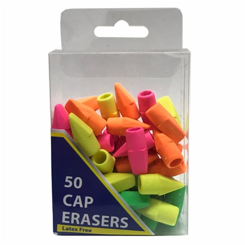 HQ Advance Cap Erasers - Neon Perspective: front