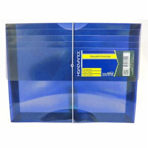 HQ Advance Reusable Envelope Document File Perspective: front