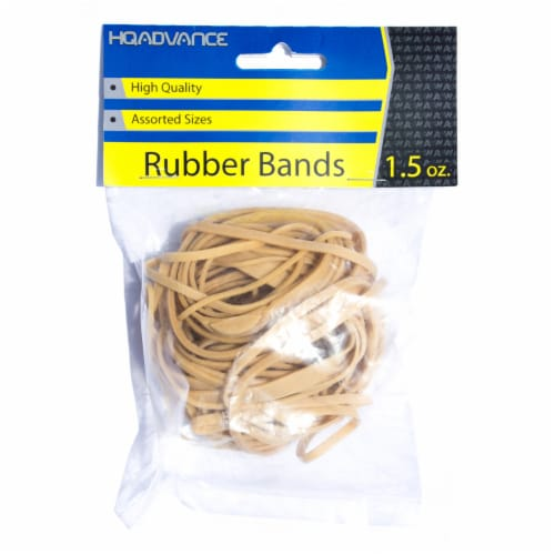 HQ Advance Rubber Bands - Tan Perspective: front