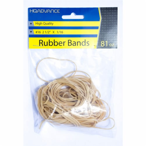 HQ Advance #16 Rubber Bands - Tan Perspective: front