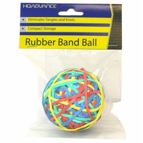 HQ Advance Rubber Band Ball Perspective: front