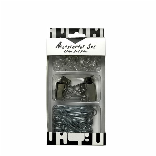 A&W Products Clips and Pins Accessories Set Perspective: front