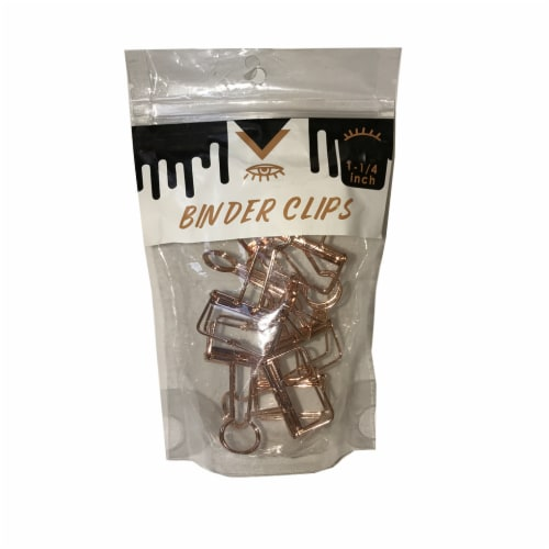 A&W Products Binder Clips Perspective: front