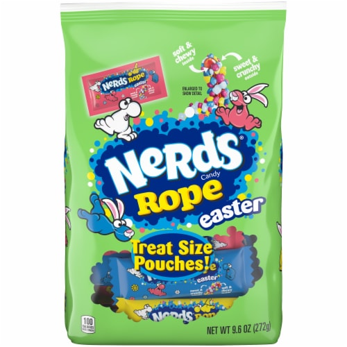 Nerds Rope Easter Candy Perspective: front