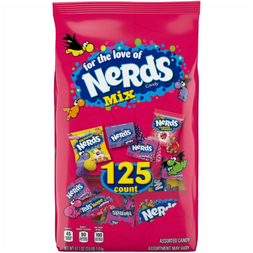 Nerds Assorted Candy Perspective: front