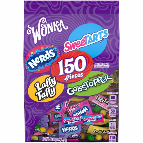 Wonka Mix-Ups Assorted Candy Perspective: front