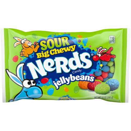 Nerds Big Chewy Sour Jelly Beans Perspective: front