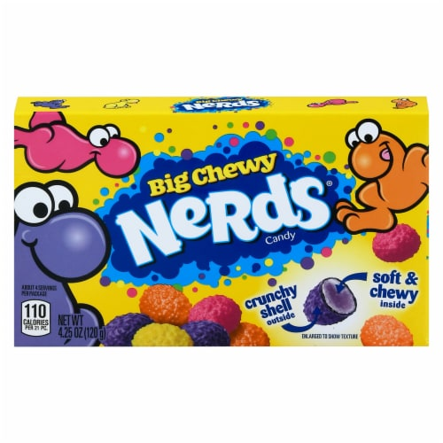 Nerds Big Chewy Candy Perspective: front