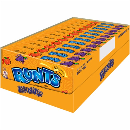 Runts Flavored Candy Perspective: front
