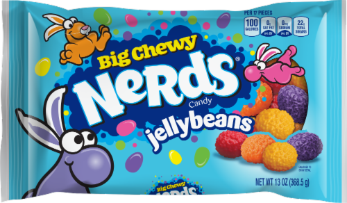 Nerds Big Chewy Jelly Beans Bag Perspective: front