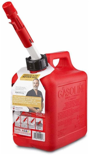 Midwest Can Company 2300 Gasoline Can - 2 Gallon - Red Perspective: front