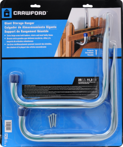 Crawford Giant Storage Hanger Perspective: front
