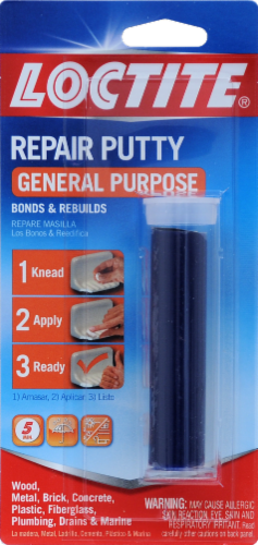 Loctite® All-Purpose Repair Putty Perspective: front