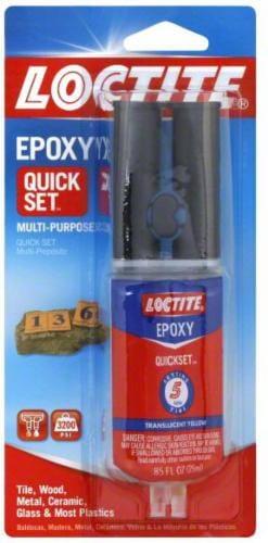Loctite Quick Set Epoxy Syringe Perspective: front