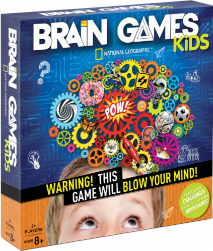 Buffalo Games National Geographic Kids Brain Games Perspective: front