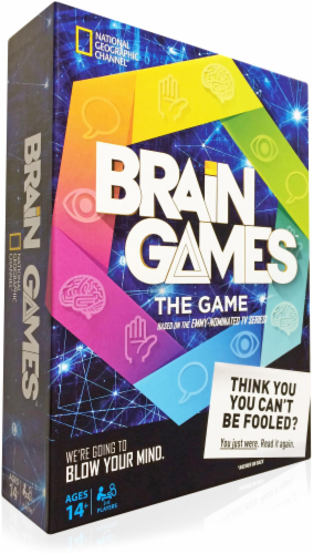 Buffalo Games Brain Game Perspective: front