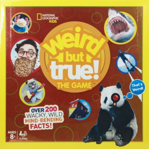Buffalo Games National Geographic Kids Weird But True Board Game Perspective: front