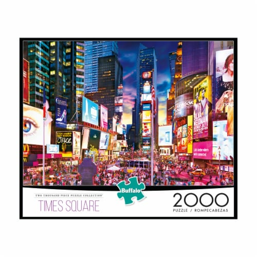 Buffalo Games Times Square Jigsaw Puzzle Perspective: front