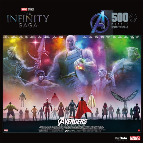 Buffalo Games Marvel Jigsaw Puzzle Perspective: front