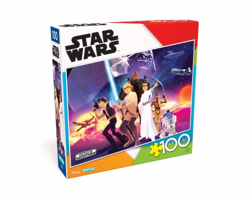 Buffalo Games Star Wars Rebel Heroes Puzzle Perspective: front