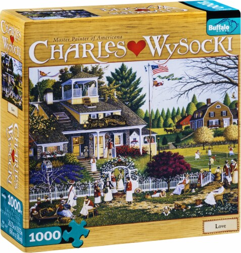 Buffalo Games Charles Wysocki: Love Puzzle Perspective: front